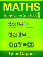 Maths Multiplication Quiz Book