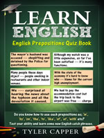 English Prepositions Quizz Book